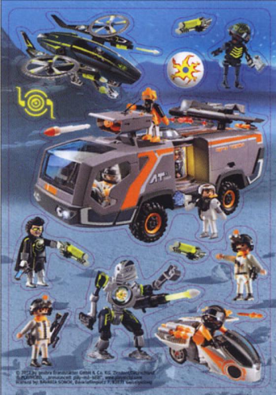 Playmobil 3D Sticker Top Agenten