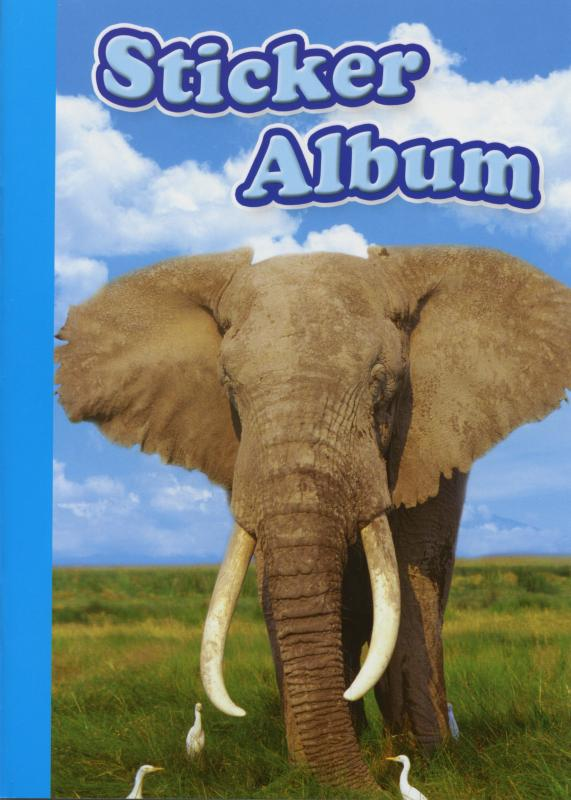 Sticker album A5 Elephant