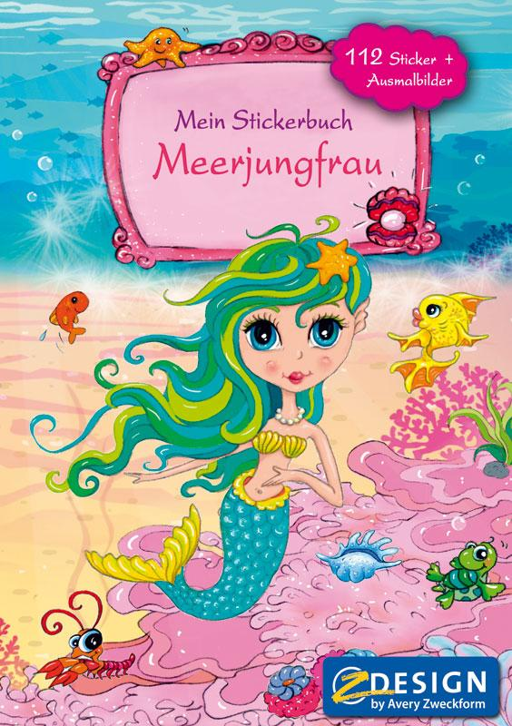 Sticker album A5 Mermaid
