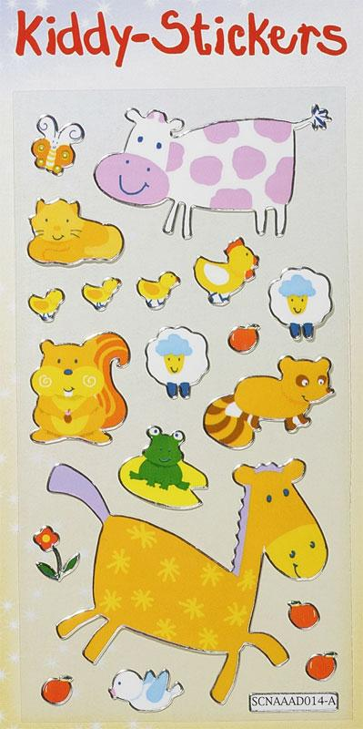 Metallic Kiddy-Stickers Tiere I