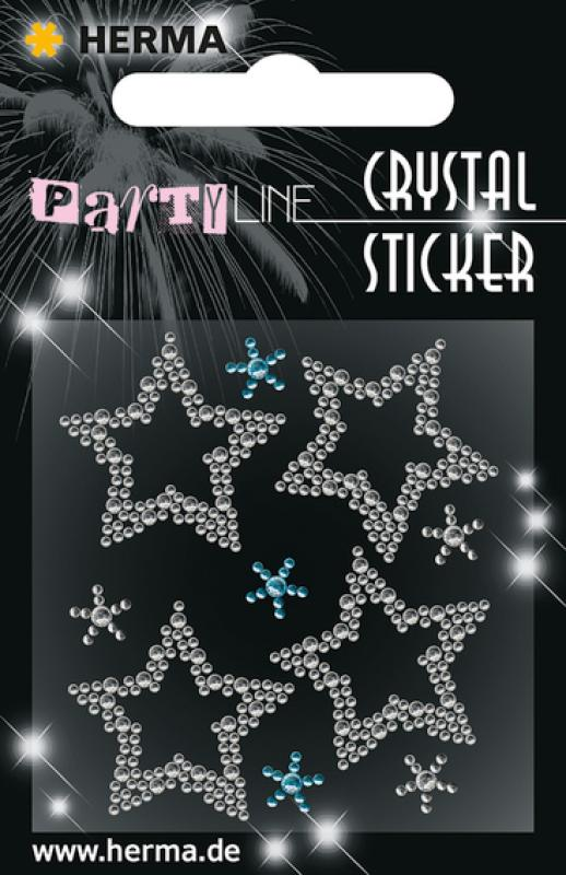 Party Line Crystal Sticker Kleine Stern