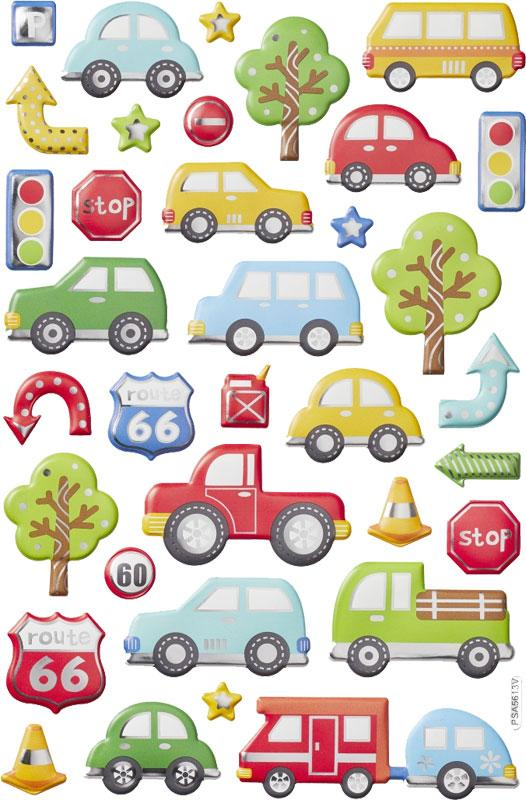 Balloon stickers XL cars