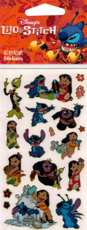 Metallic Sticker Disney Lilo& Stitch I