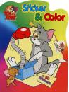 Malbuch DIN A4 Tom und Jerry Stickeralbum