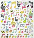 Design Sticker music notes