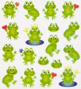 Design Sticker Frosch
