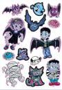 Big Glitter Sticker Vampire 13 Sticker