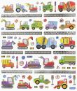 Design Sticker Construction Vehicles