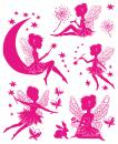 Window pictures A4 fairies 8 stickers