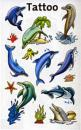 Tattoos Sticker Dolphins