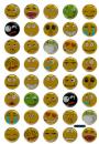 Crystal Smiley Emotion Sticker