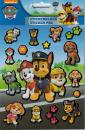 Stickerblock with metallic stickers 8 sheets Paw Patrol