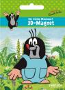 3D magnet The little mole with dungarees